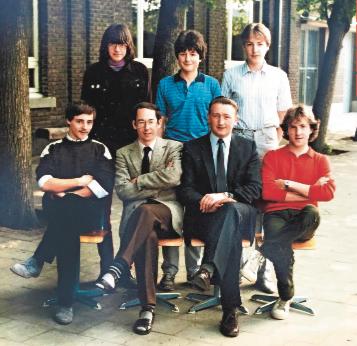 de jonge jaren van Marc Van Ranst – oud-leerling van OLVI