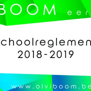 Schoolreglement 2018-2019